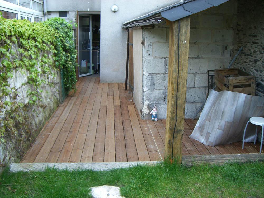 Terrasse Bois et Composite à Angers 49  Charpentier Angers  ARCM
