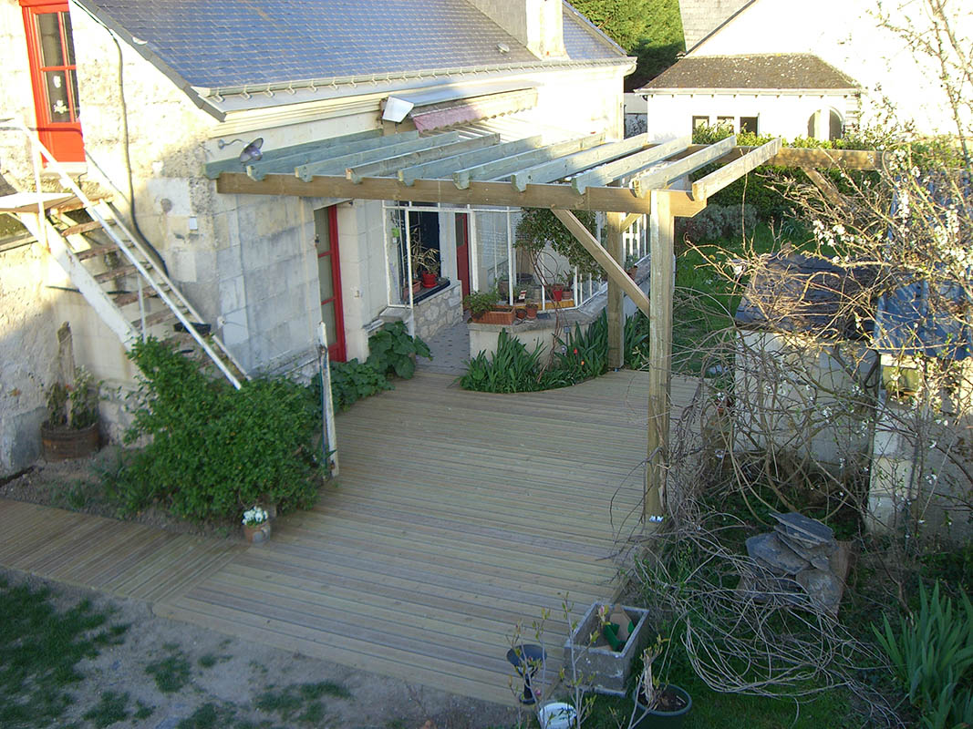 Vous êtes ici Terrasse à Angers  Charpentier Angers – ARCM