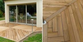 Terrasse en bois à Angers 49